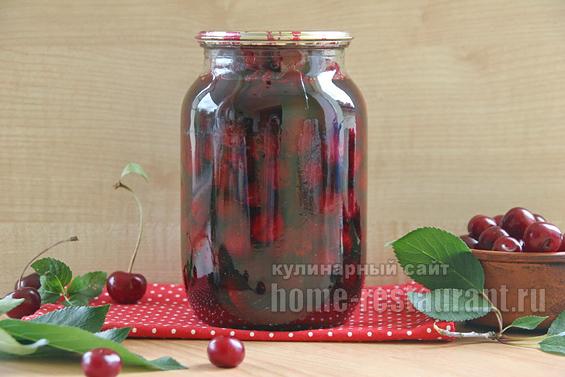 вишни в собственном соку фото 6