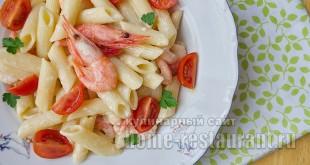 Паста с креветками в сливочном соусе рецепт с фото_10