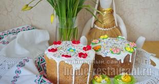 Творожный пасхальный кулич- рецепт с фото_25
