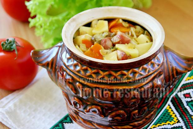 картошка в горшочках фото 8