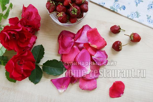 Варенье с лепестками роз фото 2