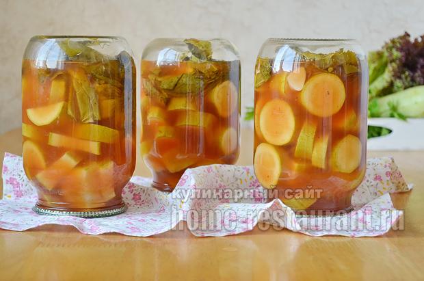 консервирование кабачков на зиму рецепты с фото_11