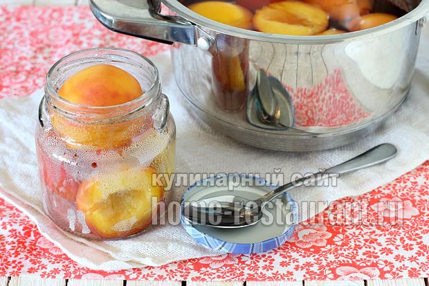 Персики в сиропе на зиму рецепт с фото_08