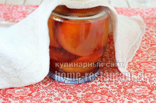 Персики в сиропе на зиму рецепт с фото_10