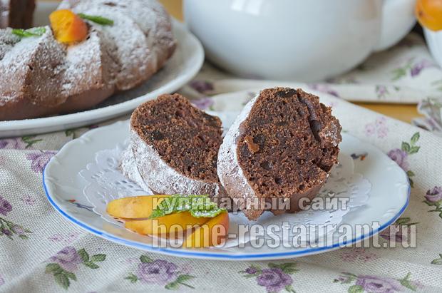 Шоколадный кекс- рецепт с фото пошагово _14