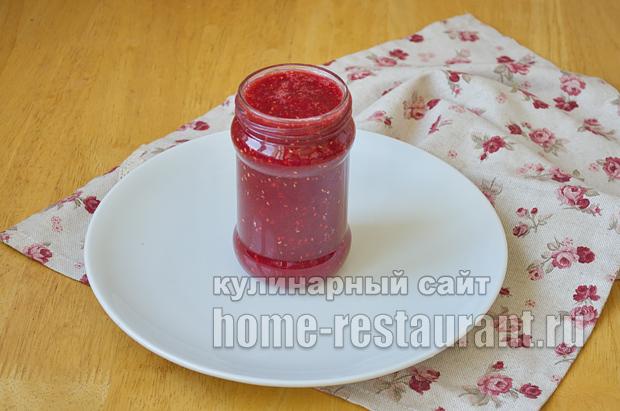 Варенье из персиков- рецепт с малиной и лаймом_12