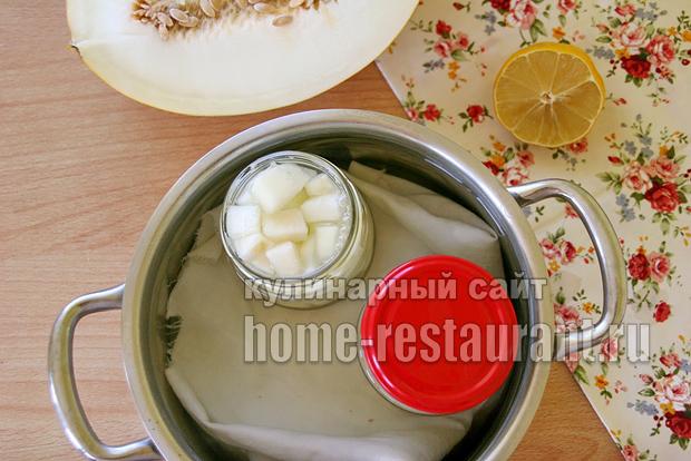 Дыня консервированная на зиму в сиропе фото_6
