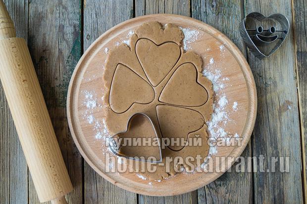 Имбирные пряники с глазурью- рецепт с фото _16