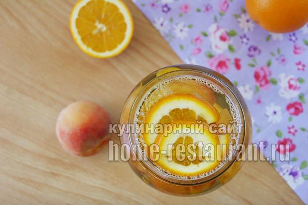 Компот из персиков фото 3