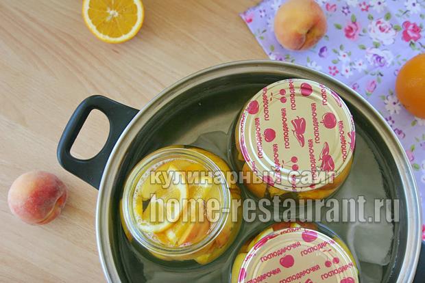 Компот из персиков фото 4