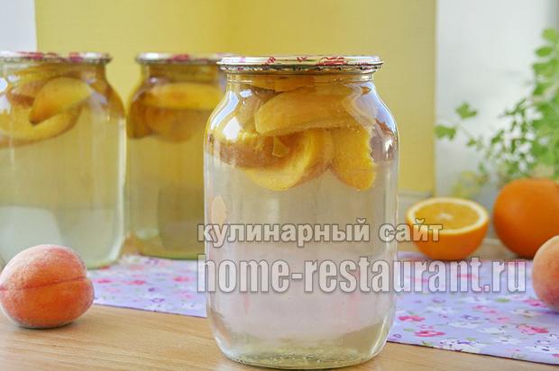 Компот из персиков фото 5