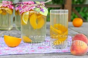 Компот из персиков фото 7