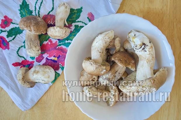 Маринованные белые грибы на зиму рецепт с фото_02