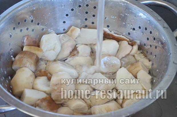 Маринованные белые грибы на зиму рецепт с фото_06