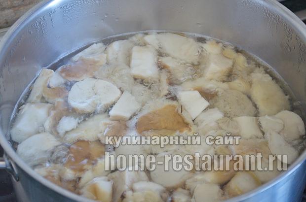Маринованные белые грибы на зиму рецепт с фото_09