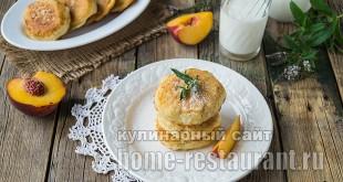 Оладьи без яиц на кефире рецепт с фото _2