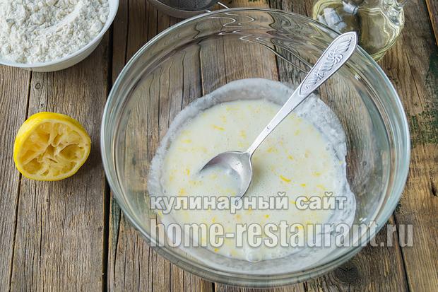 Оладьи без яиц на кефире рецепт с фото _9