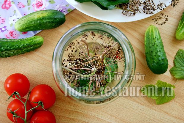 Овощное ассорти на зиму «Огород в банке» в литровых банках_3