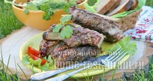 Свиные ребрышки на мангале- рецепт с фото _7