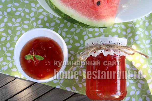 Варенье из арбуза с лимонной цедрой фото 11
