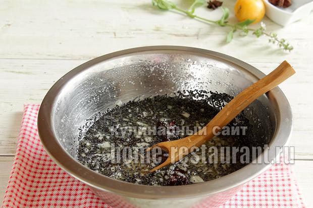 Варенье из груш на зиму с маком- рецепт с фото_03