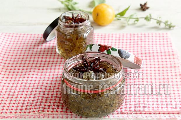 Варенье из груш на зиму с маком- рецепт с фото_04