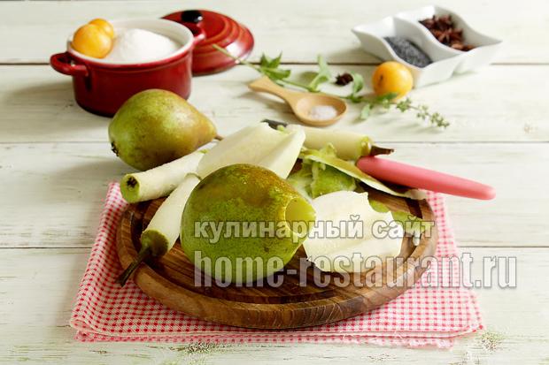 Варенье из груш на зиму с маком- рецепт с фото_08