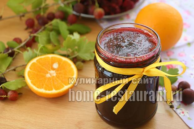 Варенье из крыжовника с апельсиновой цедрой_10