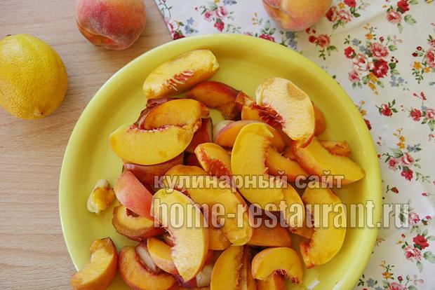 Варенье из персиков на сковороде фото 1