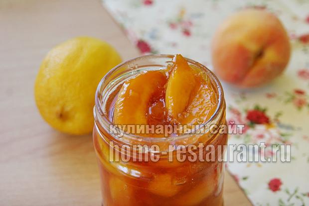 Варенье из персиков на сковороде фото 5