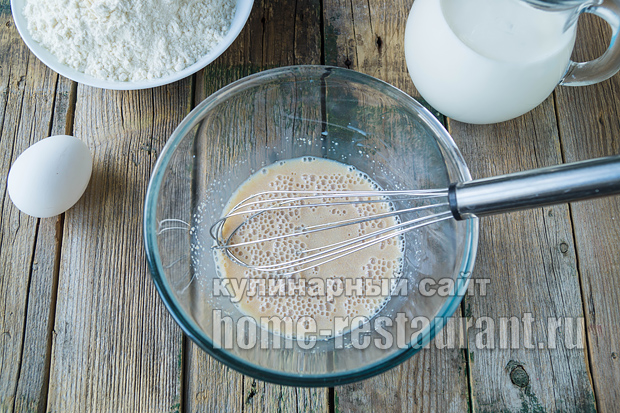 дрожжевые блины на молоке рецепт с фото _07
