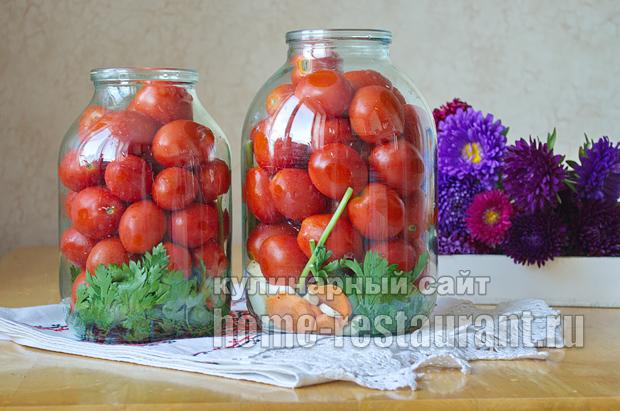 Маринованные помидоры пальчики оближешь рецепт с фото_03