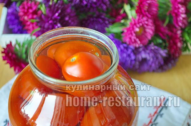 Маринованные помидоры пальчики оближешь рецепт с фото_05