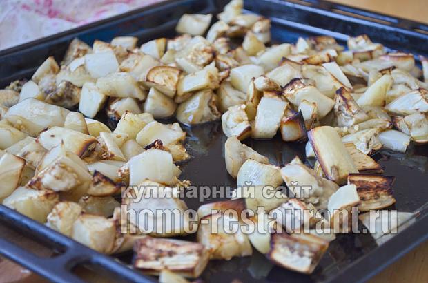Салат из баклажанов на зиму с рисом фото_04