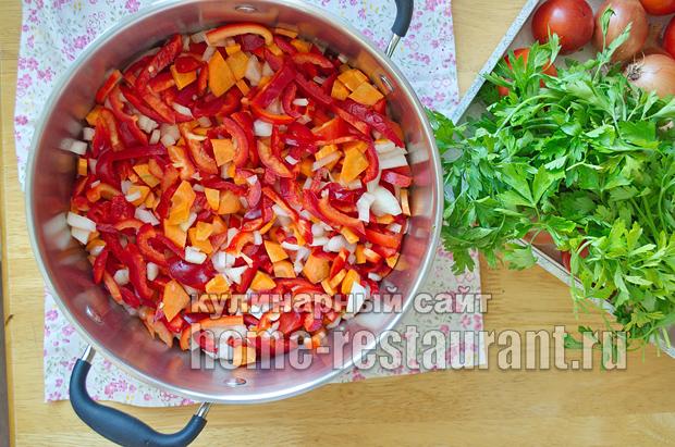 Салат из баклажанов на зиму с рисом фото_06
