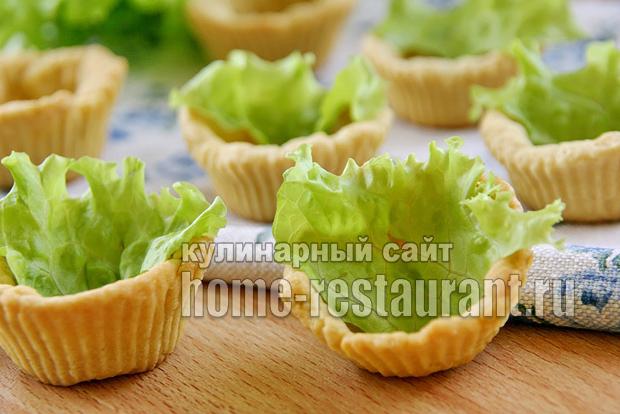 тарталетки с мясным паштетом фото 3