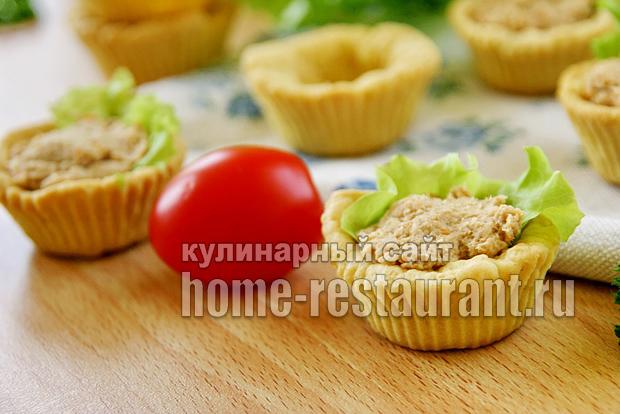 тарталетки с мясным паштетом фото 4