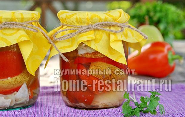 закуска из болгарского перца фото 13