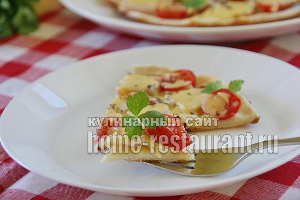 Пицца на сковороде за 10 минут: пошаговый рецепт