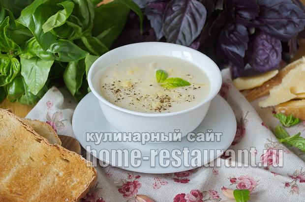 Суп-пюре из цветной капусты рецепт с фото_9