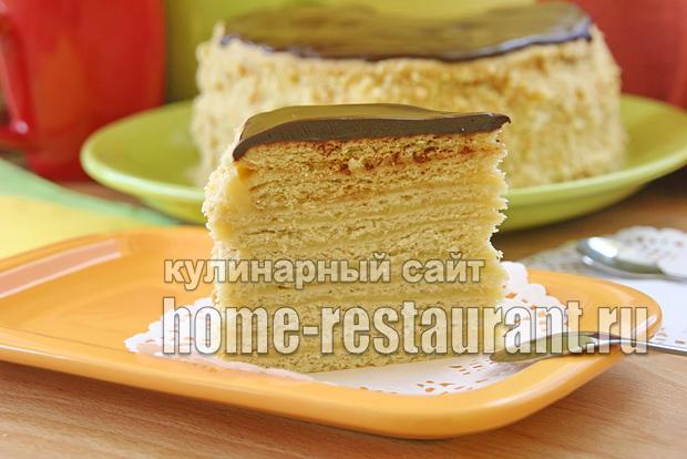песочный торт с заварным кремом фото_09
