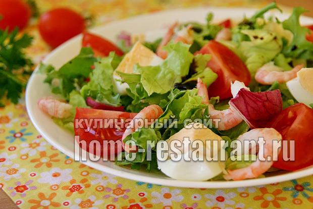 салат с креветками фото 10