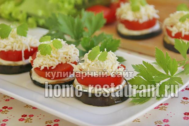 закуска из баклажанов фото 14