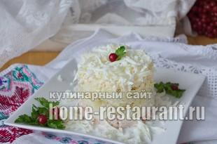 Салат Невеста рецепт с фото  _13