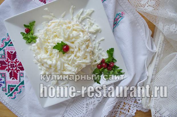 Салат Невеста рецепт с фото _15