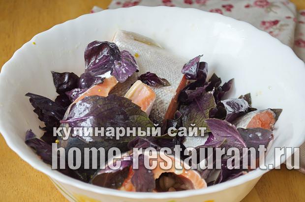 форель запеченная в духовке в фольге фото_05