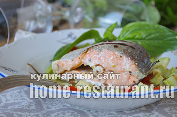 форель запеченная в духовке в фольге фото_11