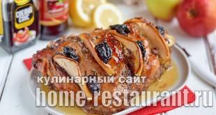 индейка запеченная в духовке в фольге рецепт с фото _08