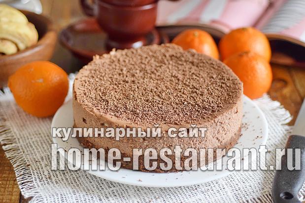 Шоколадный чизкейк рецепт с фото пошагово _09