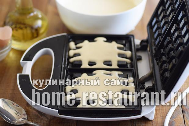 Венские вафли рецепт для электровафельницы  _09
